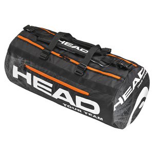 HEAD TOUR TEAM DUFFLE TENNIS BAG BLACK