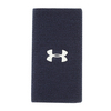 6 Inch Performance Wristband 410_MIDNIGHT_NVY/WHT