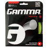 GAMMA Poly Z 16G Tennis String Optic Yellow