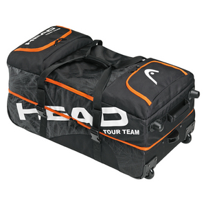 HEAD TOUR TEAM TRAVEL BAG WITH WHEELS BLACK