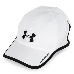 UNDER ARMOUR MENS ARMOURLIGHT CAP WHITE/BLACK