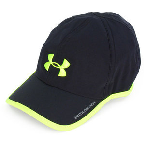 UNDER ARMOUR MENS ARMOURLIGHT CAP BLACK/HIGH VIS YELL