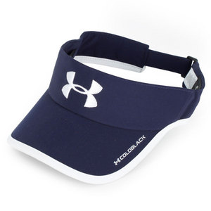 UNDER ARMOUR MENS ARMOURLIGHT VISOR MIDNIGHT NAVY/WHT