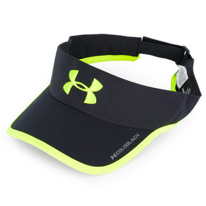UNDER ARMOUR MENS ARMOURLIGHT VISOR BLK/HIGH VIS YEL