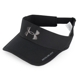 UNDER ARMOUR MENS ARMOURLIGHT VISOR BLACK/GRAPHITE