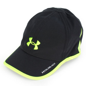 UNDER ARMOUR WOMENS ARMOURLIGHT CAP BLK/HIGH VIS YEL