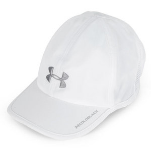 UNDER ARMOUR WOMENS ARMOURLIGHT CAP WHITE/STEEL