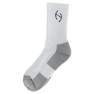 GENESIS ELITE PERFORMANCE CREW SOCKS WH/GY