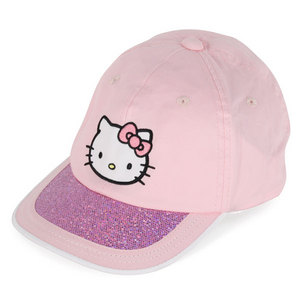 HELLO KITTY THE COLLECTION JUNIOR SPORTS HAT PINK