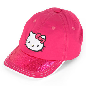 HELLO KITTY THE COLLECTION JUNIOR SPORTS HAT MAGENTA