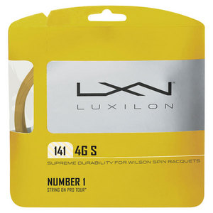 LUXILON 4G S 1.41MM/15G TENNIS STRING