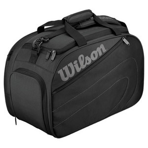 WILSON CLUB SMALL TENNIS DUFFLE BAG BLACK