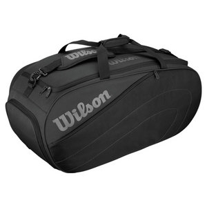 WILSON CLUB LARGE TENNIS DUFFLE BAG BLACK