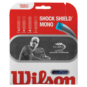 WILSON SHOCK SHIELD MONO 17G/1.25MM STRING BLUE