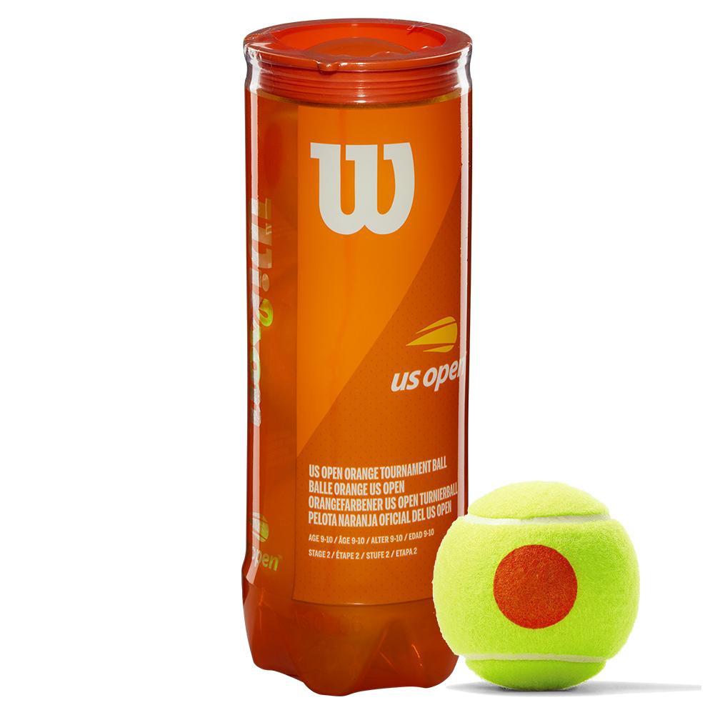 Us Open Orange Tournament Tennis Ball Can