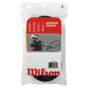 WILSON ADVANTAGE TENNIS OVERGRIP 30 PACK BLACK