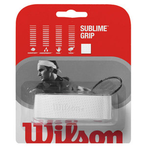 WILSON SUBLIME REPLACEMENT TENNIS GRIP WHITE