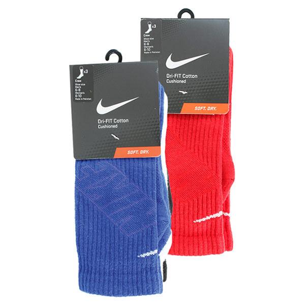 Men's Ultimatum 3 Pack Dri Fit Crew Socks