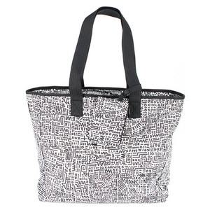 NIKE GRAPHIC PLAY TOTE WHITE/BLACK