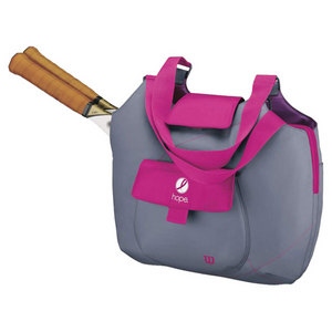 WILSON HOPE TENNIS TOTE PINK/GRAY