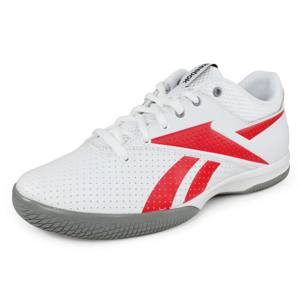 reebok s on the rise lite tennis shoes white