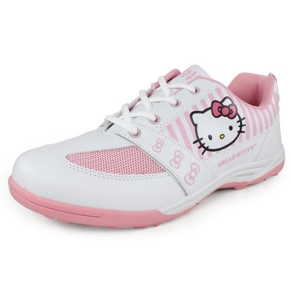 Girl's Shoes White And Pink