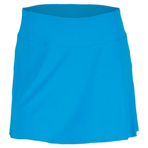 FILA WOMENS CENTER COURT SOLID TEN SKORT BLUE
