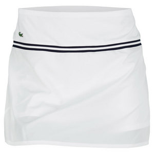 LACOSTE WOMENS NYLON SKIRT WITH BUILT IN SHORT