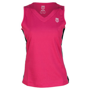 K-SWISS WOMENS SIDE PANEL TANK ROSE/WHITE