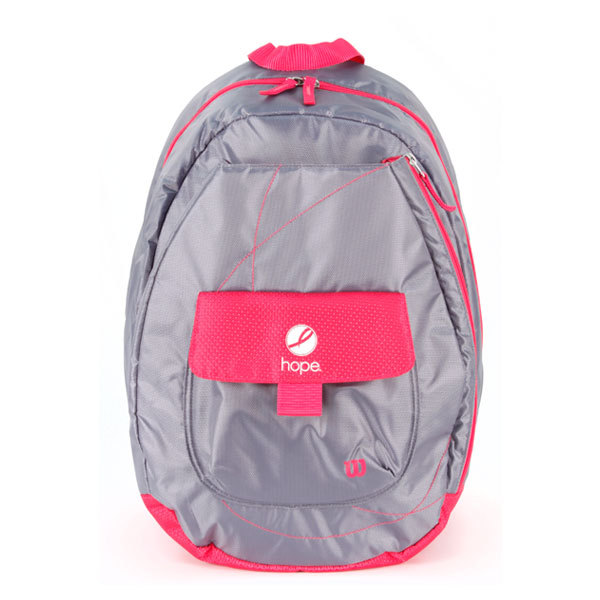Hope Tennis Backpack Pink/Gray