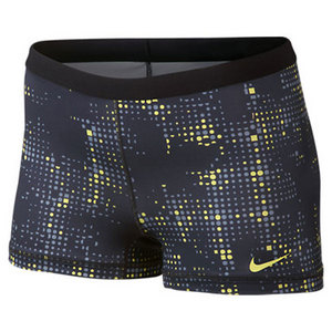 NIKE WOMENS PERFECT MATCH PRINTED SHORT