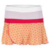 WILSON Girl`s Sweet Success Tennis Skirt Tuscan Orange/White