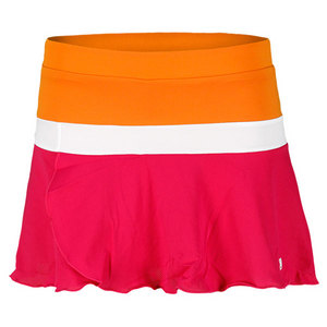 WILSON GIRLS SWEET SUCCESS SKIRT PINK/ORANGE