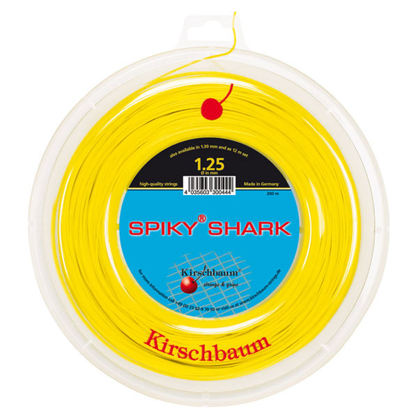 Spiky Shark 17g 1.25 Tennis String Reel Yellow