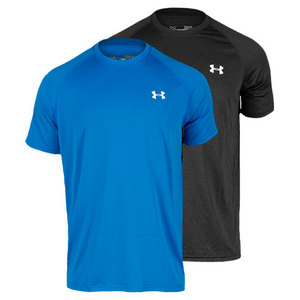UNDER ARMOUR MENS UA TECH SHORT SLEEVE TENNIS TEE