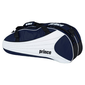 PRINCE VICTORY SIX PACK TENNIS BAGS ROYAL BL/WH