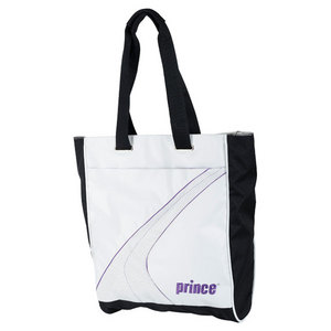 PRINCE ASPIRE TENNIS TOTE WHITE/PURPLE