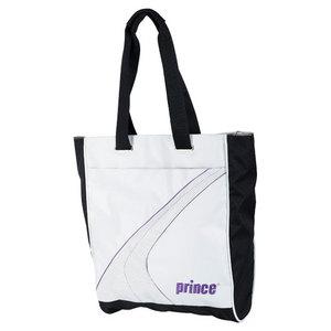 PRINCE ASPIRE TENNIS TOTE WHITE/PURPLE