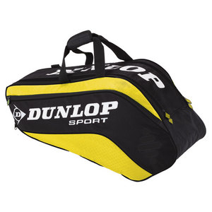 DUNLOP BIOMIMETIC TOUR 6 PACK YELLOW TENNIS BAG