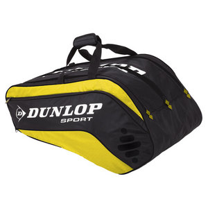 DUNLOP BIOMIMETIC TOUR 10 PACK YELLOW THERM BAG