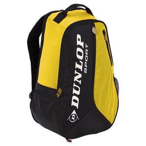DUNLOP BIOMIMETIC TOUR TENNIS BACKPACK YELLOW
