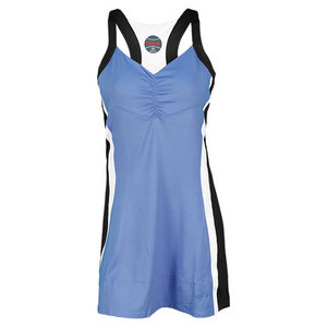 BOLLE WOMENS SIDE LINES TENNIS DRESS WATER