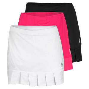K-SWISS WOMENS MESH PLEAT TENNIS SKIRT