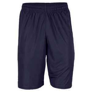 UNDER ARMOUR MEN`S MICROSHORT WITH POCKETS WH/NAVY