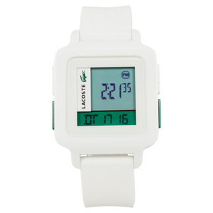 LACOSTE KINO WATCH WHITE/GREEN