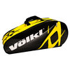 VOLKL Team Mega Tennis Bag Black/Yellow