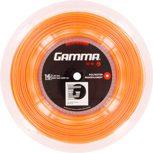 GAMMA IO 16G TENNIS STRING REEL ORANGE