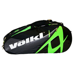 VOLKL TEAM COMBI TENNIS BAG BLACK/NEON GREEN