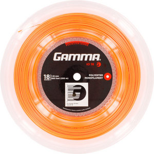GAMMA IO 18G TENNIS STRING REEL ORANGE