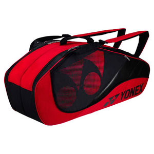 YONEX TOURNAMENT SIX PACK TENNIS BAG RED